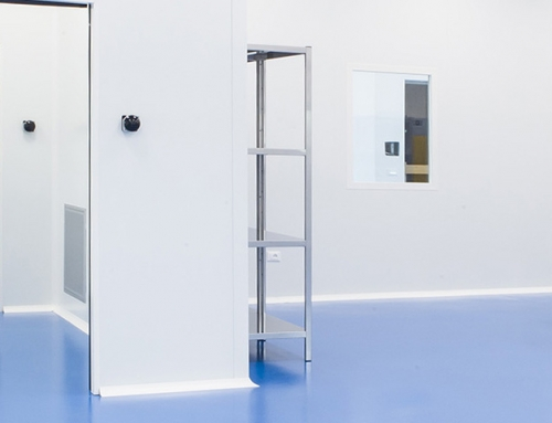Phamm Engineering, production of cleanrooms in Milan