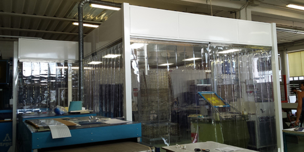 Softwall cleanroom | Phamm Engineering